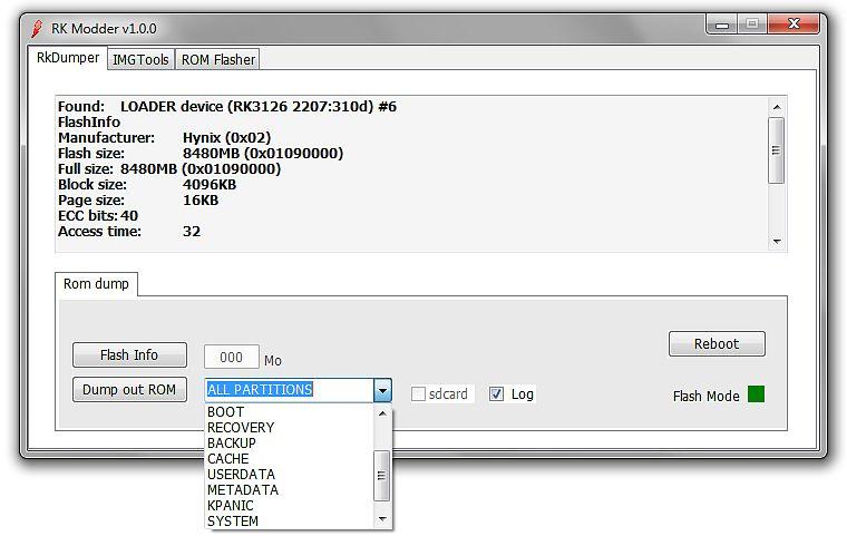 Rkmodder v1.0 لهواة التعديل على فيرموير الروك شيب