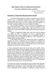 Uma Janela Para o Evangelho de Mateus [Encontro 27].pdf