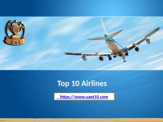 Top 10 Airlines.pptx