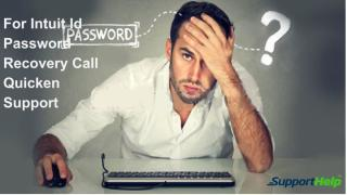 For Intuit Id Password Recovery Call Quicken Support.pdf
