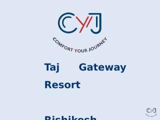 Taj Gateway Resort Rishikesh.pptx