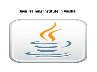 Java Training Institute in Vaishali.pdf