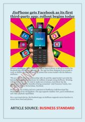 JioPhone gets Facebook as its first third-party app; rollout begins today.pdf